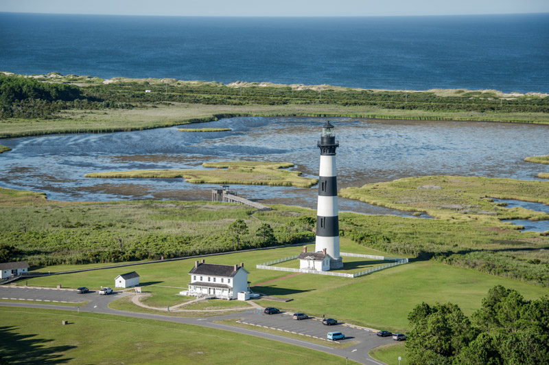 Bodie Island Lighthouse in Nags Head, NC