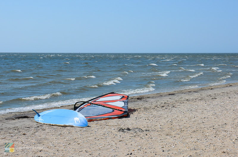 Windsurfing is very popular on the Pamlico sound