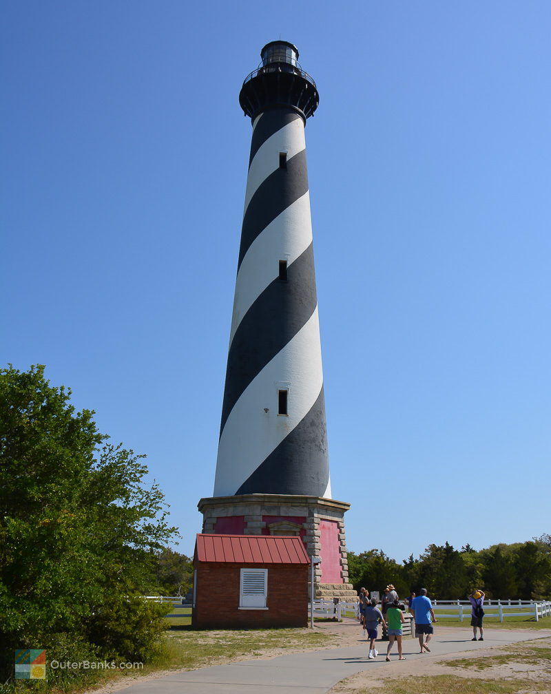 For a great view of Buxton, climb the Cape Hatteras Lighthouse