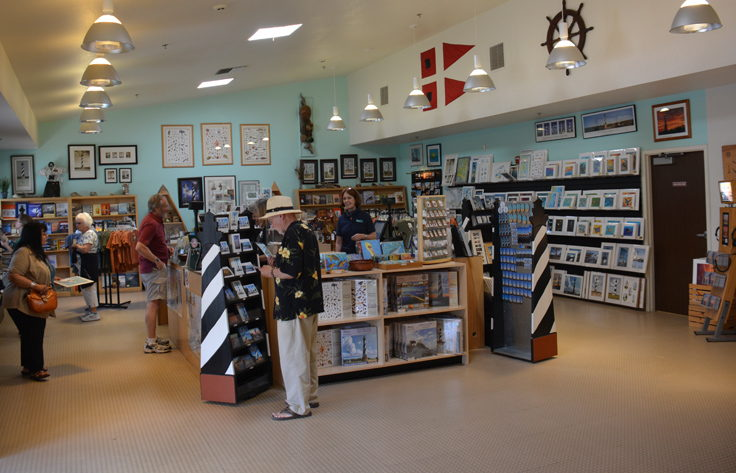 Cape Hatteras Lighthouse gift shop