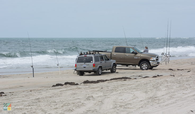 4x4 Beach Access near Oregon Inlet