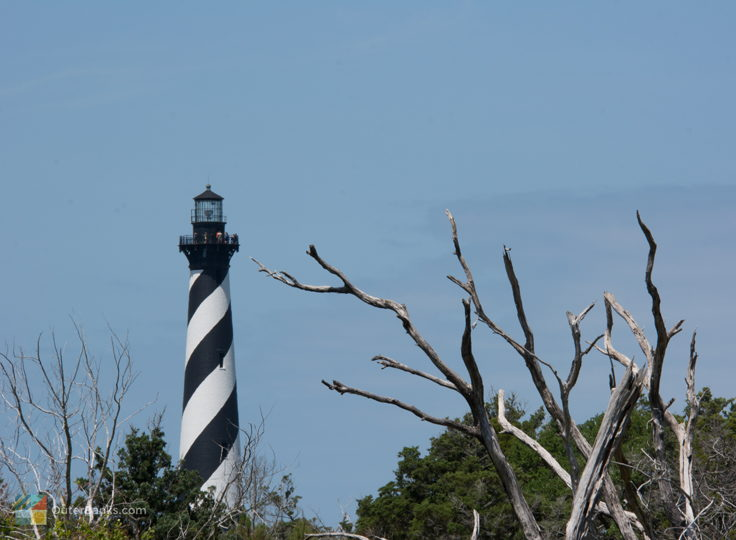 Cape Hatteras Lighthouse from Cape Point