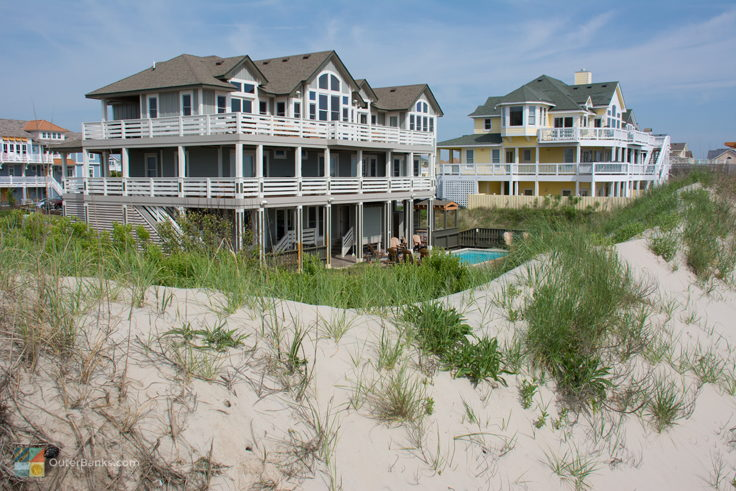 Beachfront Homes In Corolla