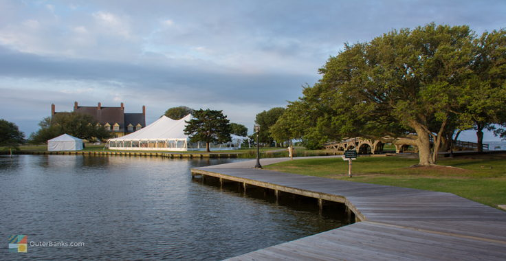 Wedding venue at Historic Corolla Park