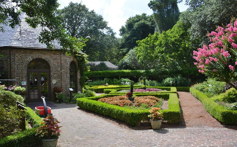 Elizabethan gardens for Outer garden
