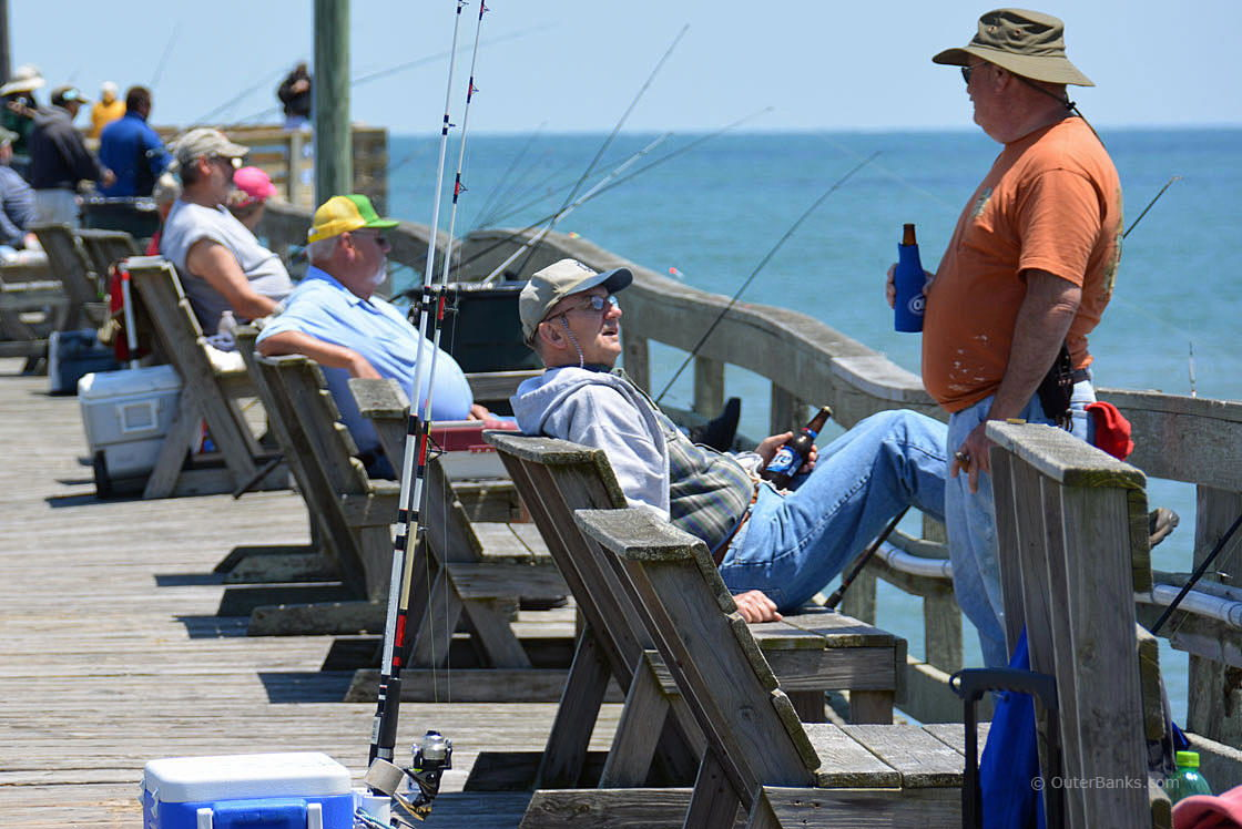 Fishing in the outer banks for Nc wildlife fishing license