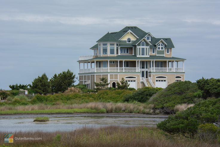 Soundside home in Hatteras