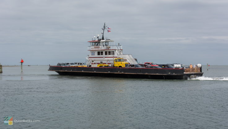 The Hatteras - Ocracoke Ferry