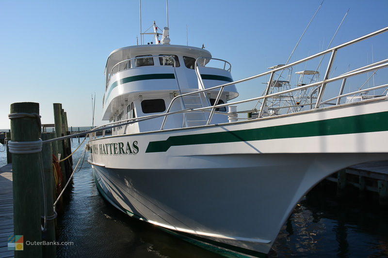 Miss Hatteras offers fishing, dolphin watching, eco tours and pirate cruises