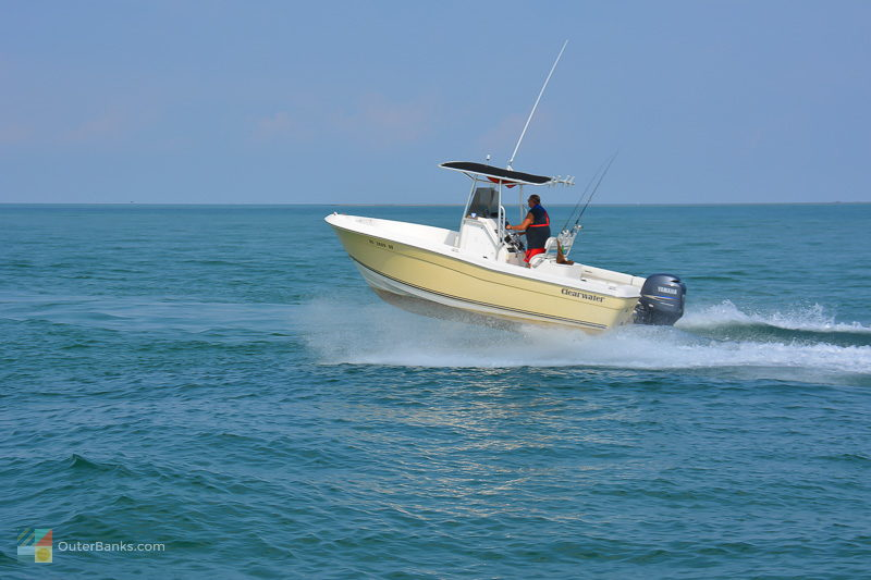 Boating in Hatteras, NC