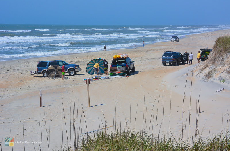 4x4 Beach access offers convenient access to your beach gear