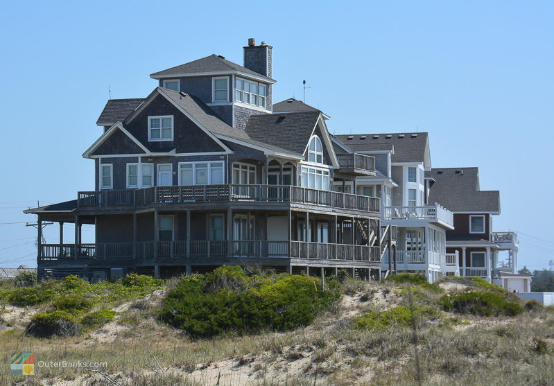 A beachfront home in Hatteras Village