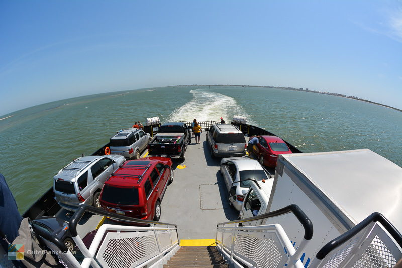 A ride aboard the NCDOT Hatteras/Ocracoke ferry