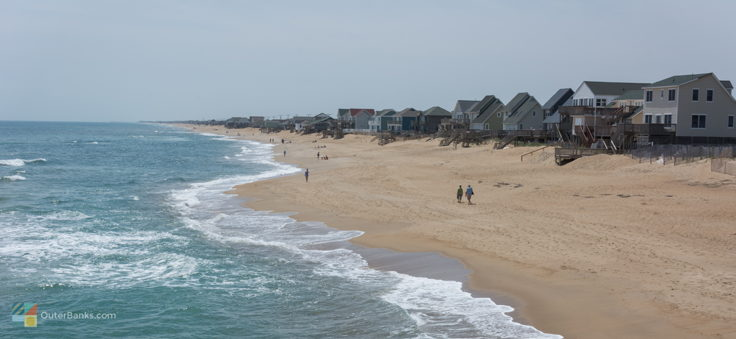 A view of Kitty Hawk from Kitty Hawk pier