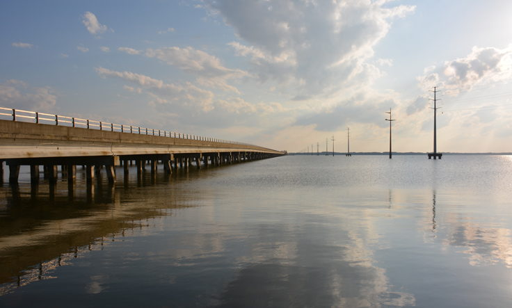 Wright Memorial Bridge to the Currituck Mainland