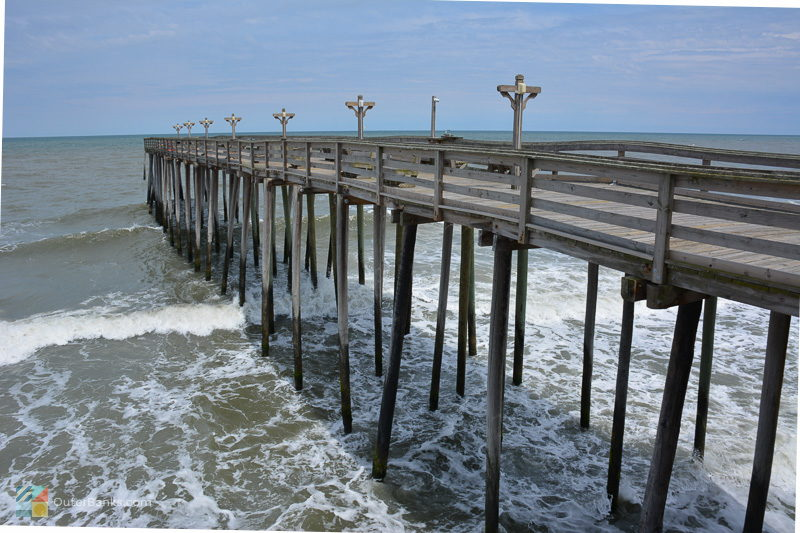 Kitty Hawk Pier at the Hilton Garden Inn