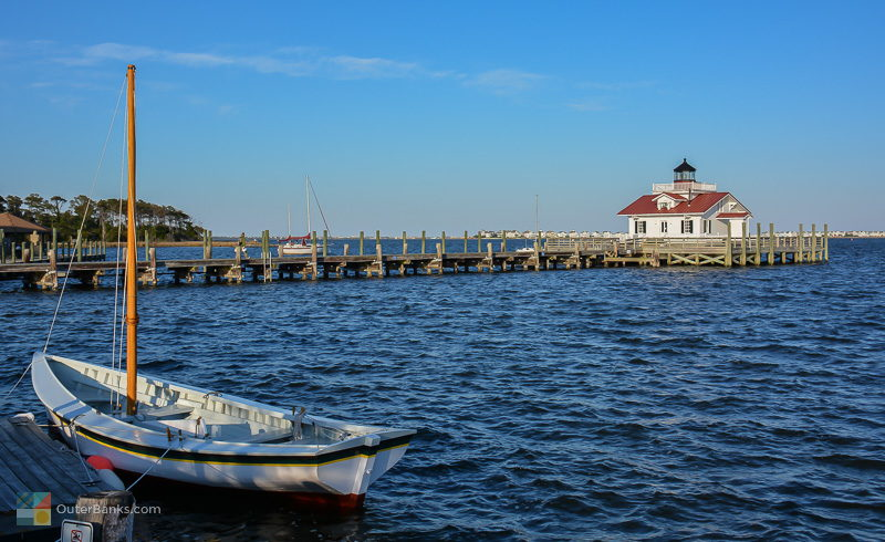 Roanoke Marshes Lighthouse in Manteo