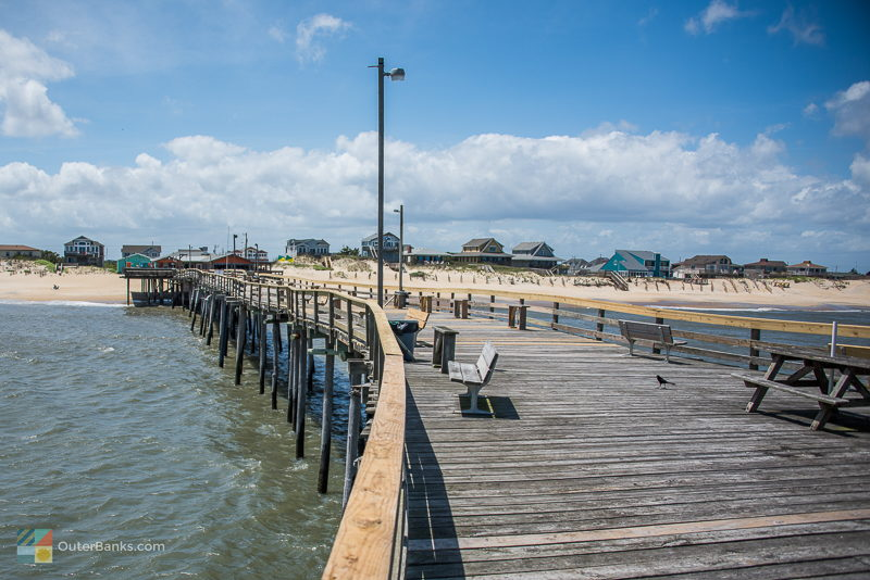 Fishing in the outer banks for Nags head fishing pier