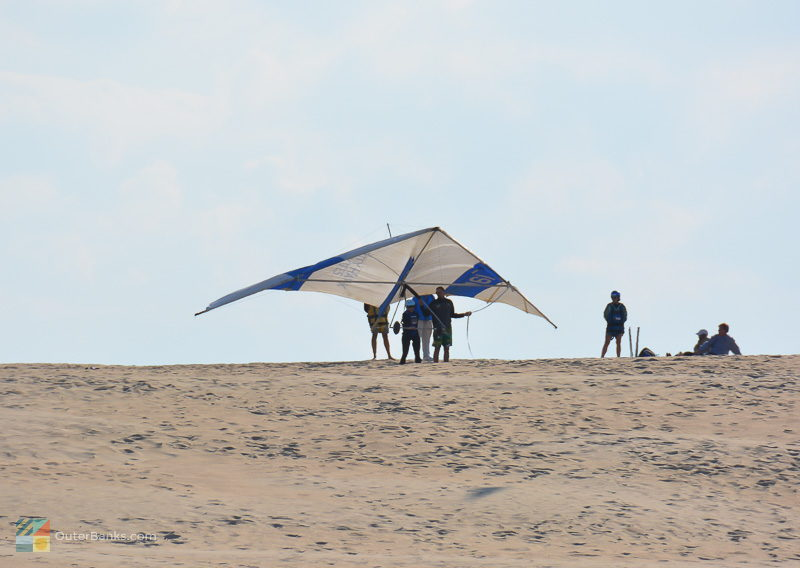 Hang gliding lessons at Jockey's Ridge State Park