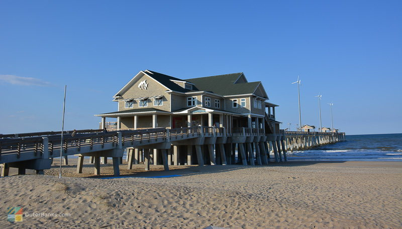 Jenette's Pier in the late afternoon
