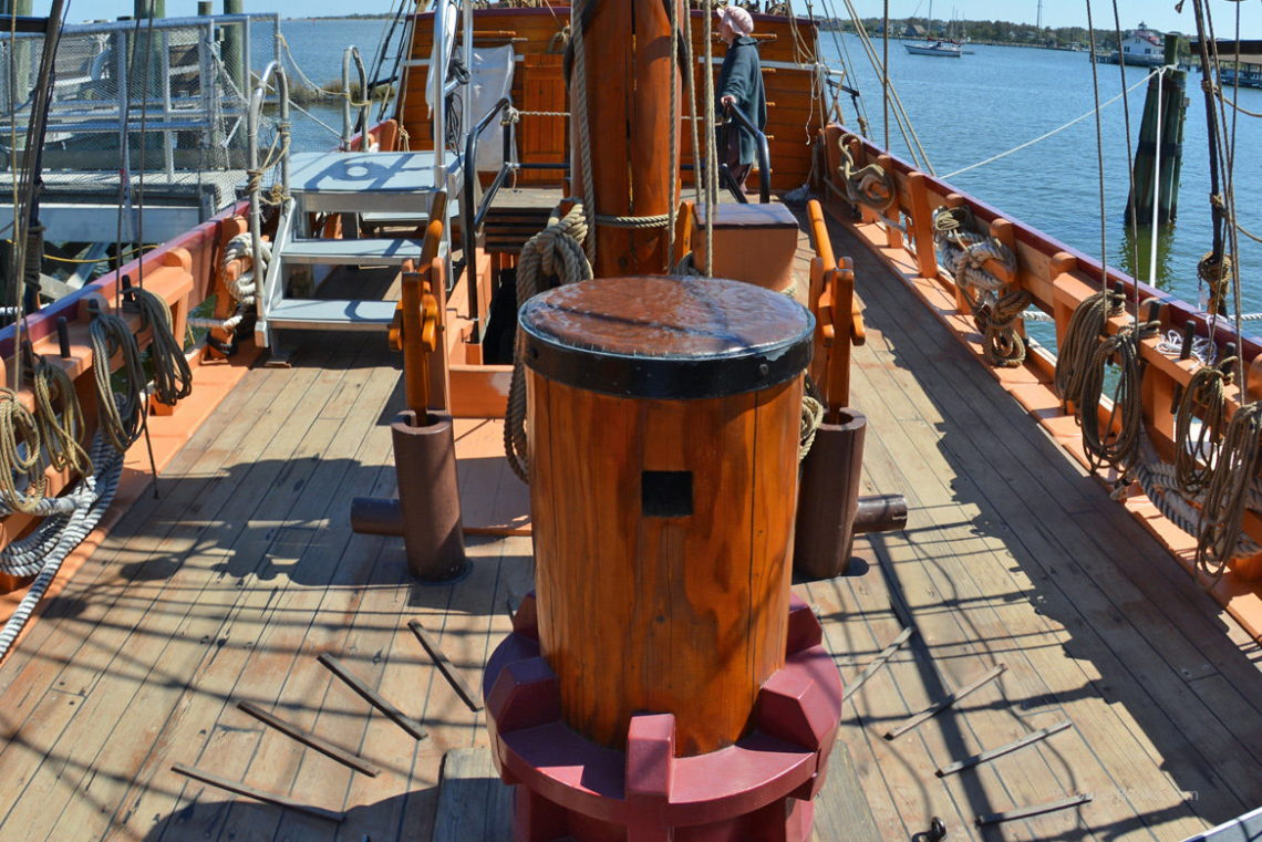 Tour the Elizabeth II on Roanoke Island Festival Park