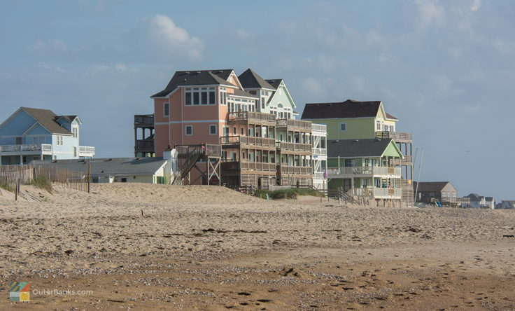 Oceanfront homes in Rodanthe