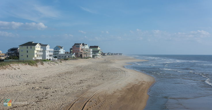 The beach in Rodanthe