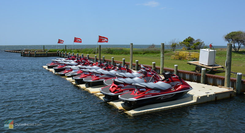 If windsports aren't your thing, modren waverunners are available for rent