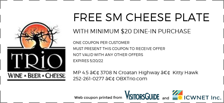 FREE SM CHEESE PLATE