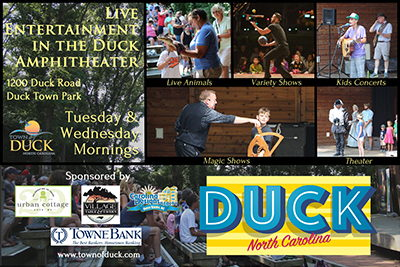 Live Entertainment at the Duck Ampitheater