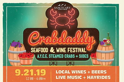 Crabdaddy Seafood Festival at Sanctuary Vineyards