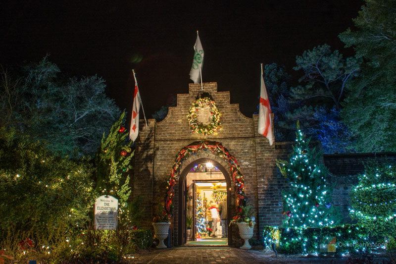 The Elizabethan Gardens Christmas Lights 2020 Winter Lights at Elizabethan Gardens   OuterBanks.com