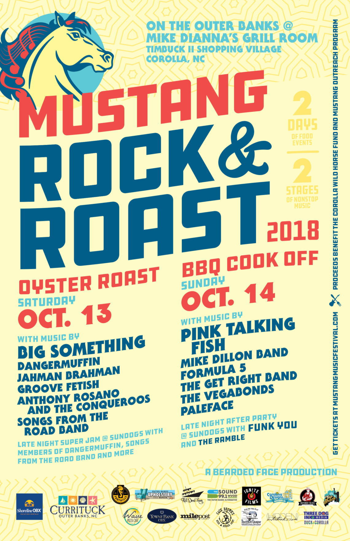 Mustang Rock and Roast 2018