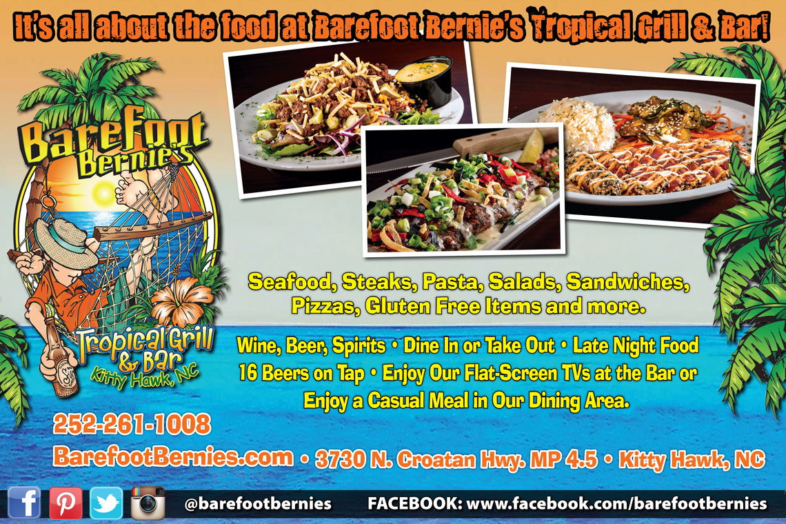 Barefoot Bernie's Tropical Grill & Bar