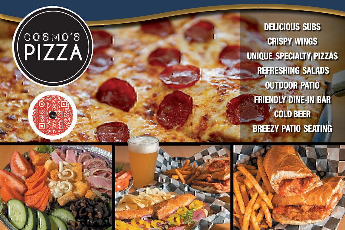 $2.00 OFF  ANY SPECIALTY PIZZAS • LIMIT 5 PIES