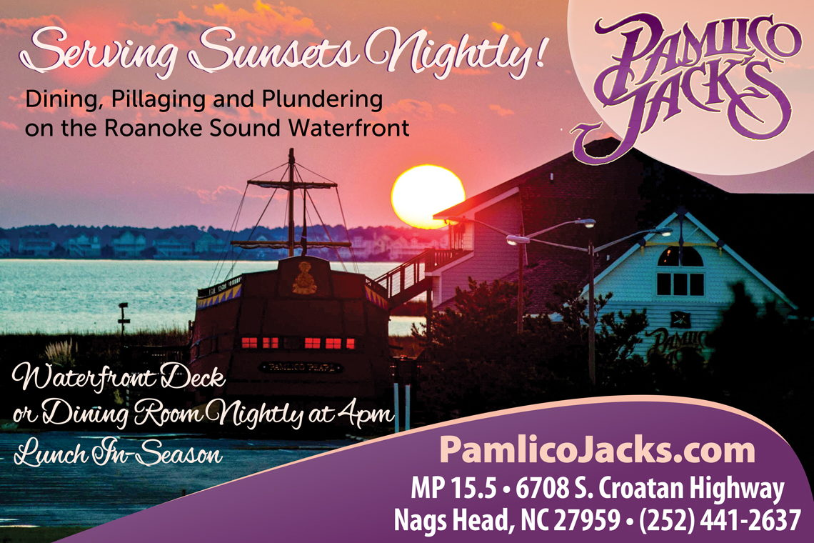 2018 Nags Head Restaurants Guide Categories Pamlico Jack S