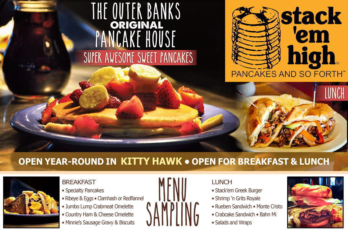 Stack'em High Pancakes - Kitty Hawk