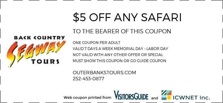 $5 OFF ANY SAFARI