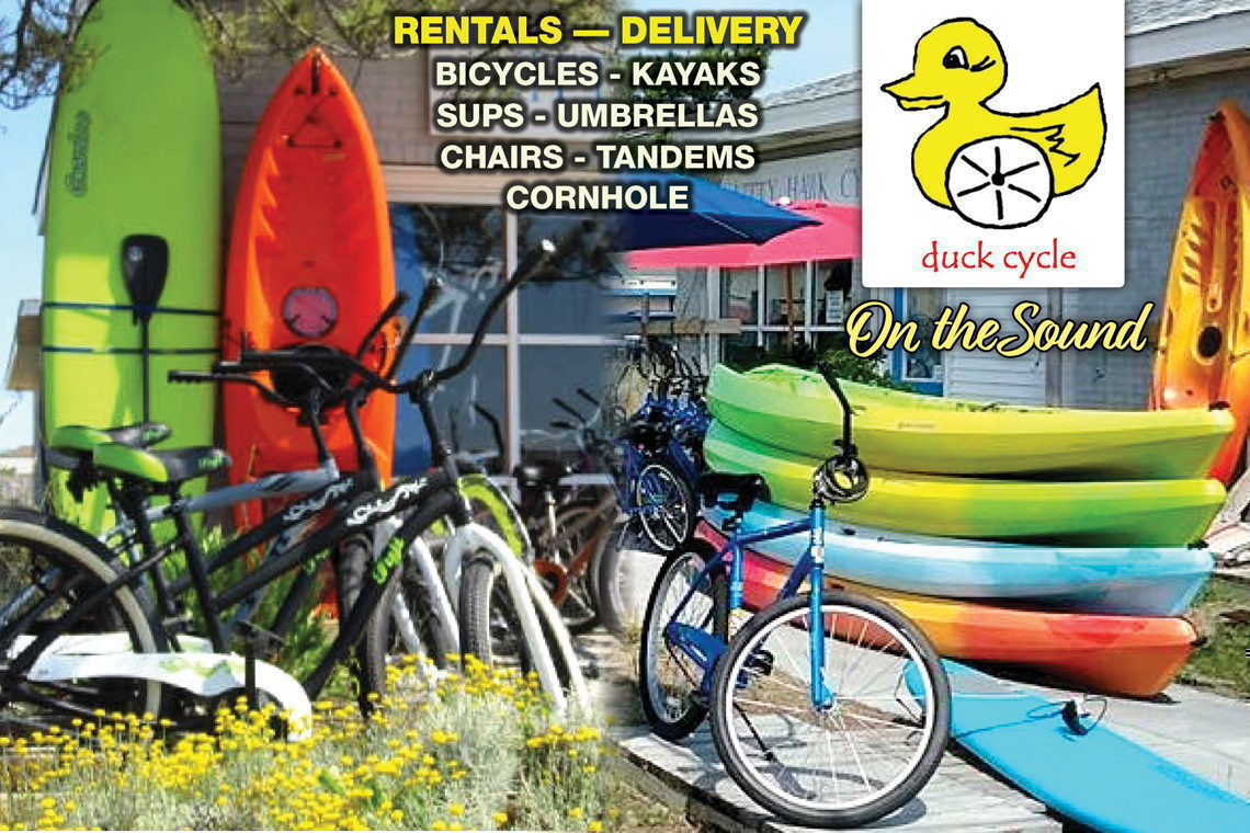 RENT BIKE FOR A WEEK GET 20% OFF ON-SITE HRLY KAYAK/SUP RENTAL
