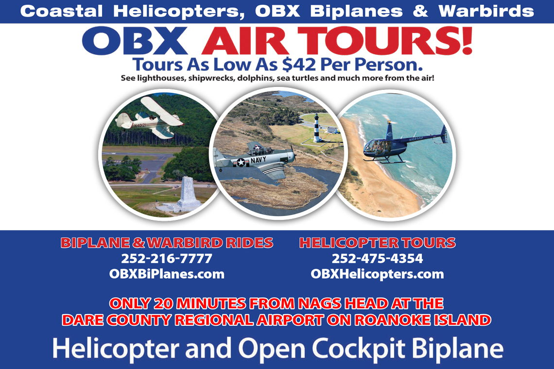 OBX By Air DVD $25.00 Value