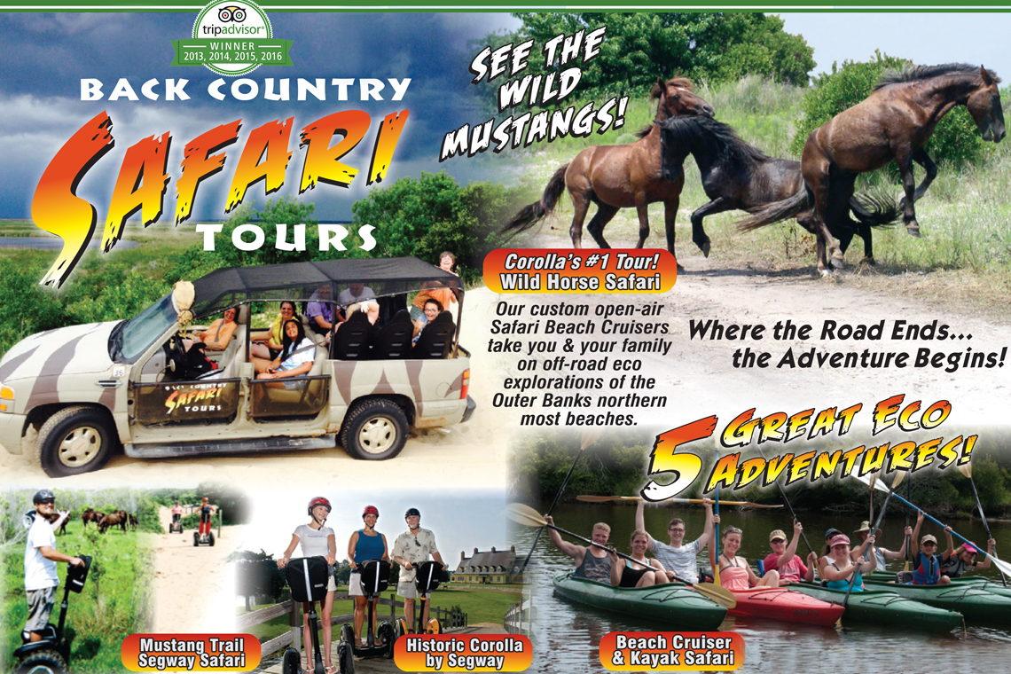 Safari Tours Corolla Nc
