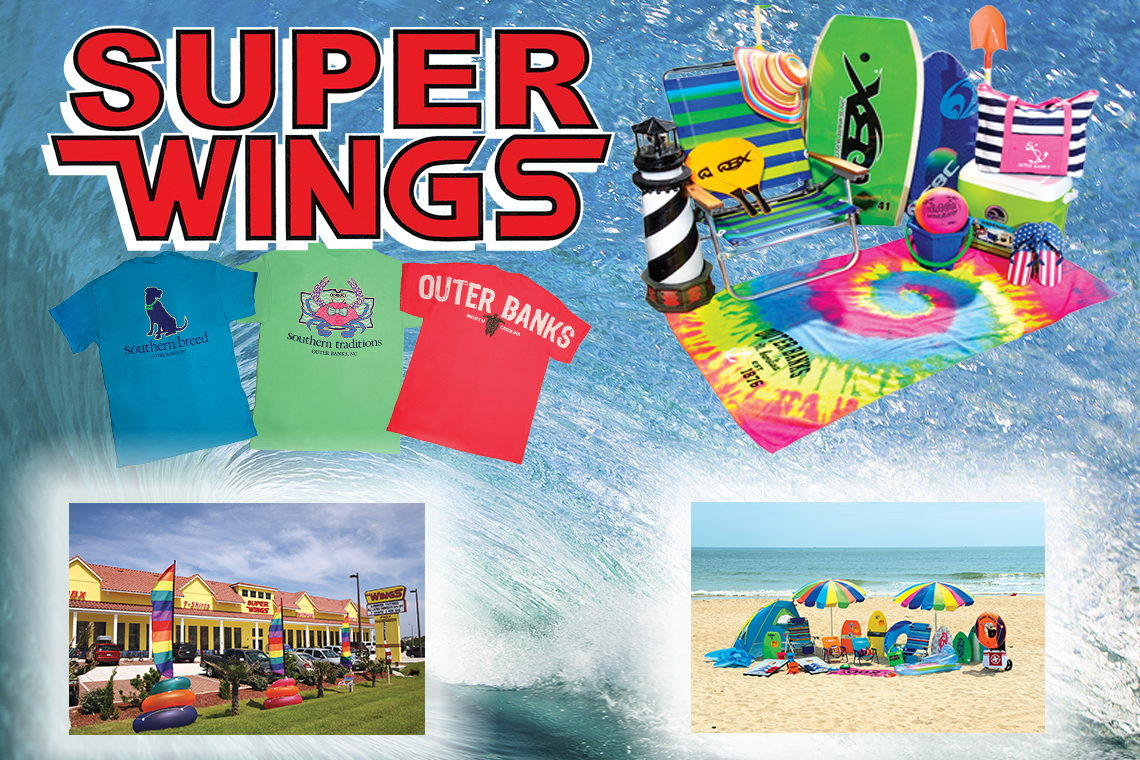 FREE SUPERWINGS BAG WITH PURCHASE OF $30 OR MORE