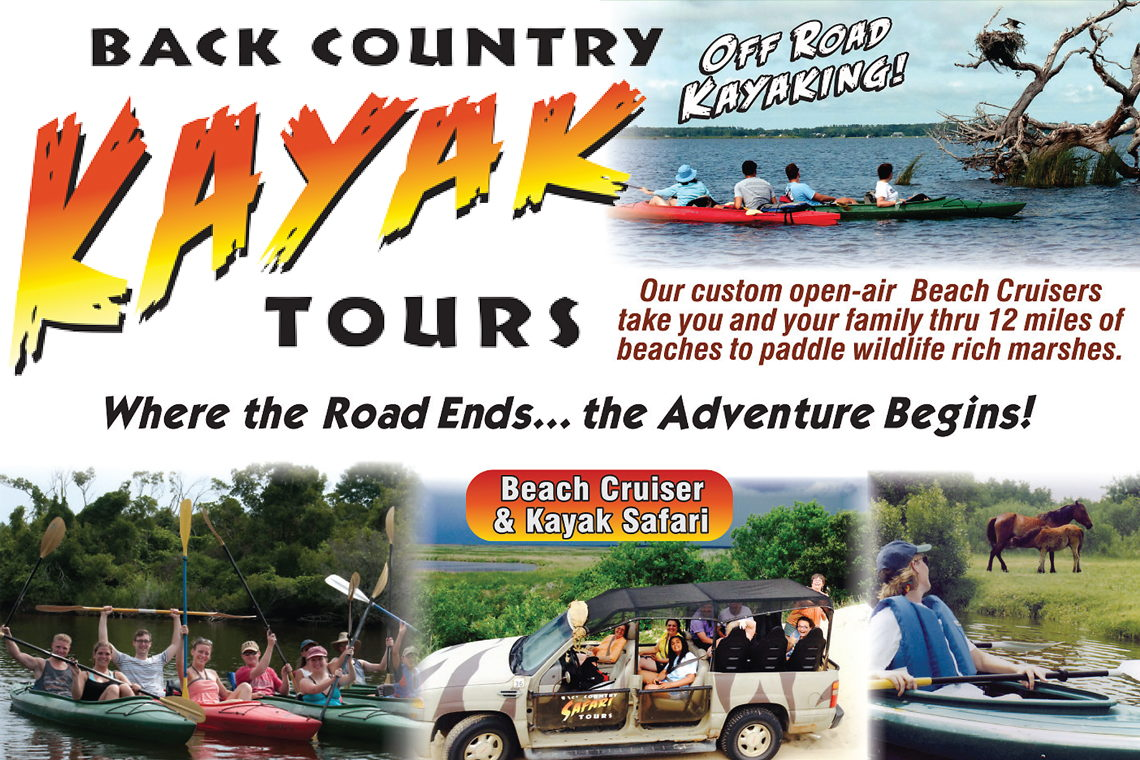 Back Country Safari Kayak Tours
