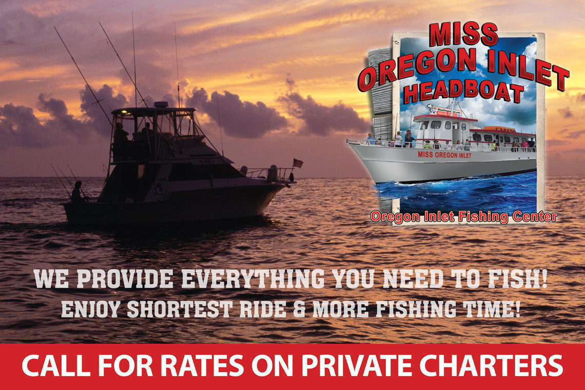 $3 OFF  FISHING HEADBOAT