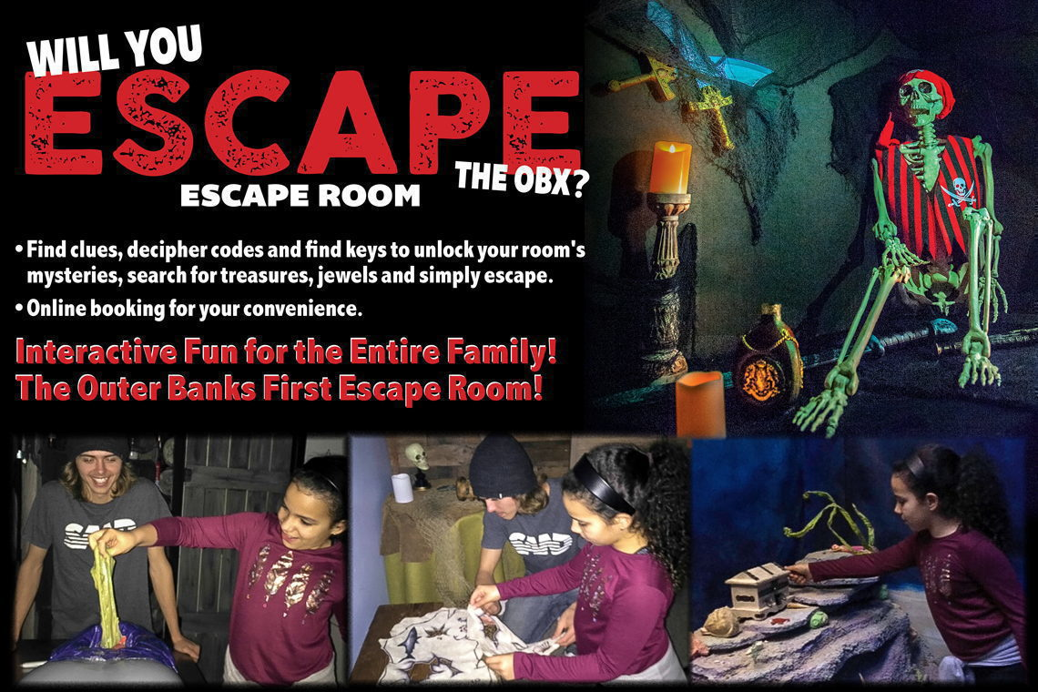 Escape Room - Will You Escape the OBX?