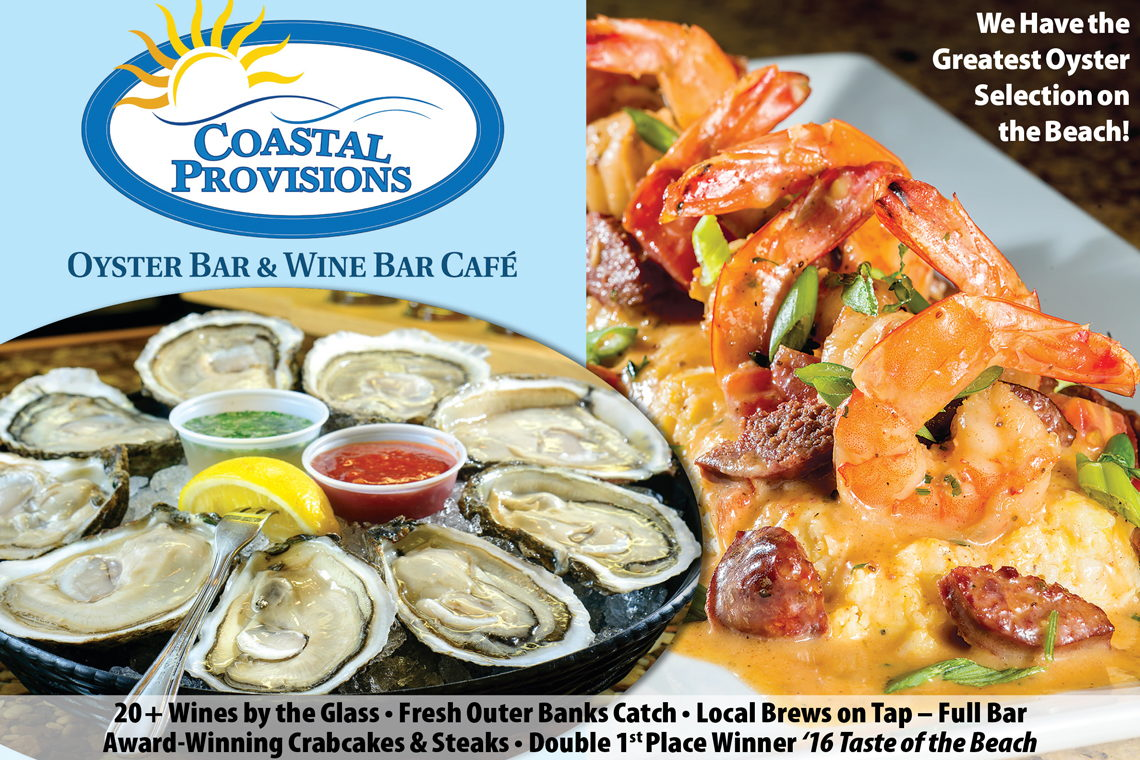 Coastal Provisions Oyster Bar and Wine Bar Cafe'