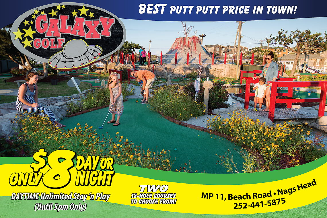 AFTER 5PM DEAL! $8 PER PERSON FOR ONE 18-HOLE COURSE