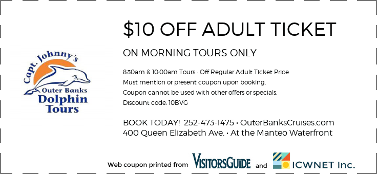 $10 OFF ADULT TICKET