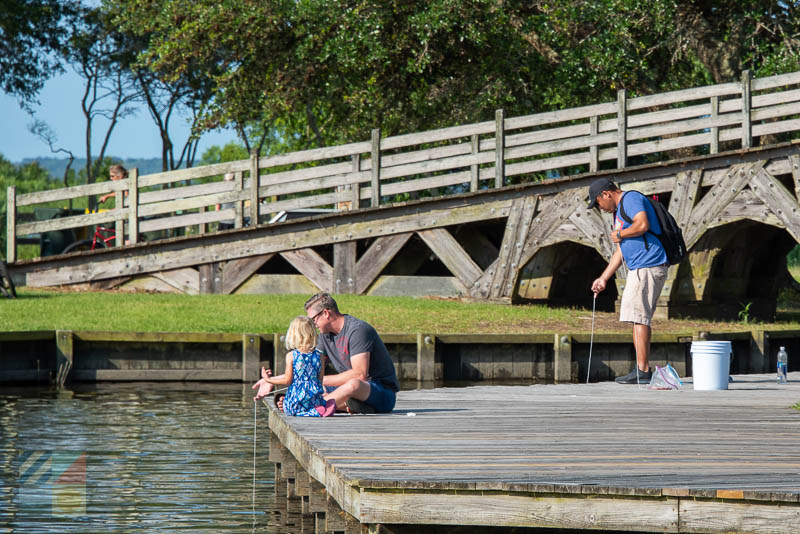 Crabbing in Historic Corolla Park