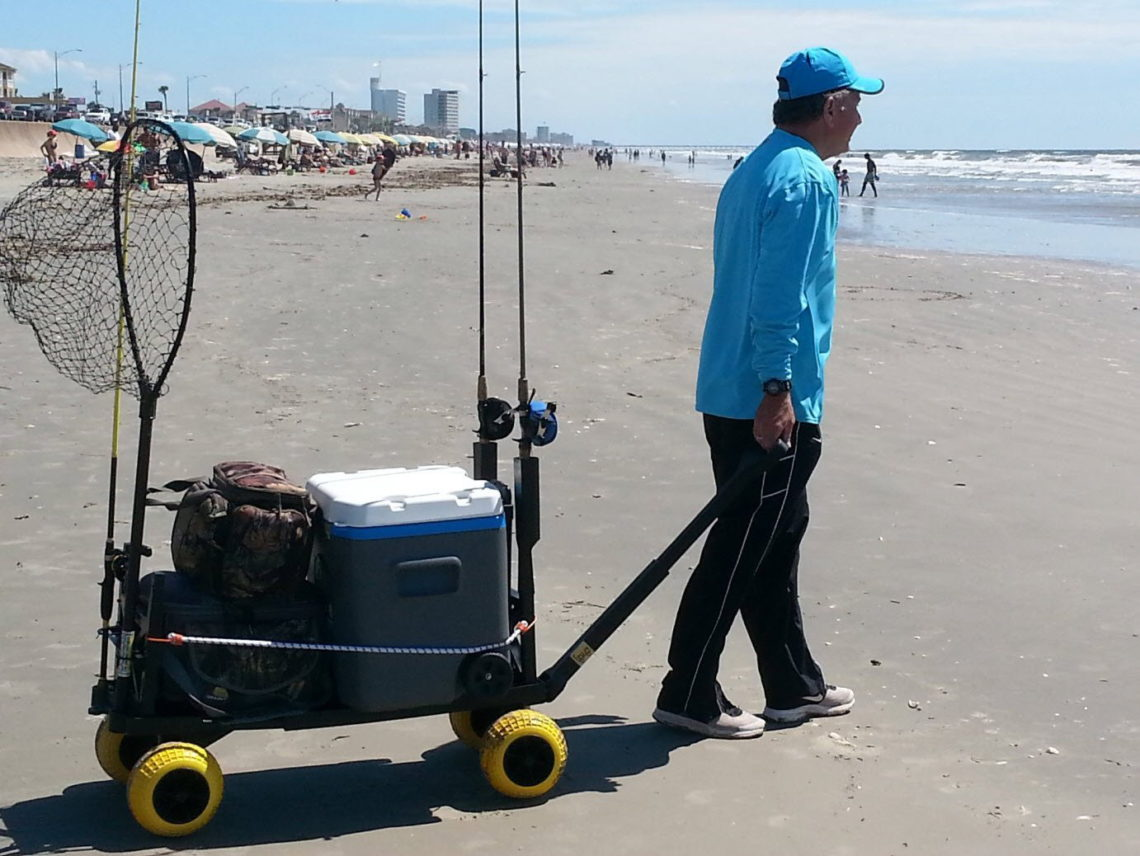 Best beach carts for Folding fishing cart
